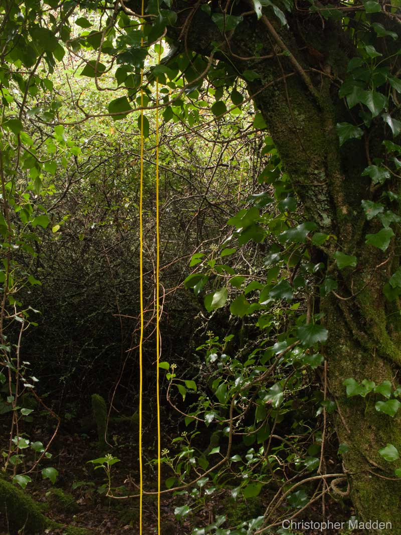 contemporary art in the environment - intervention in the landscape, Cornwall